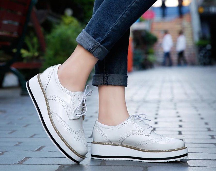 Romero Flat Shoe  Color White Casual Ultra Seller Shoes Online Cheap