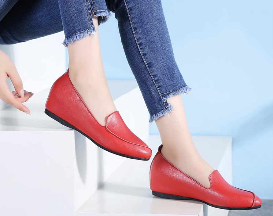 Ruiz Flat Loafers Shoes Ultra Online Seller Cheap Color Red
