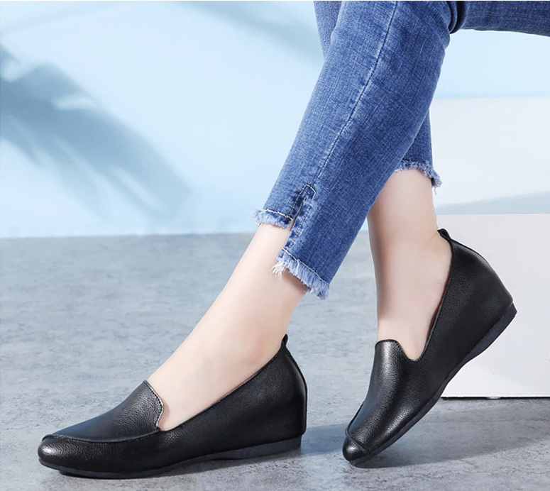 Ruiz Flat Loafers Shoes Ultra Online Seller Cheap Color Black