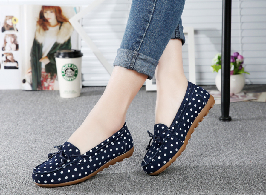 Morales Flat Shoe Color Navy Blue Casual Ultra Seller Shoes Online Cheap