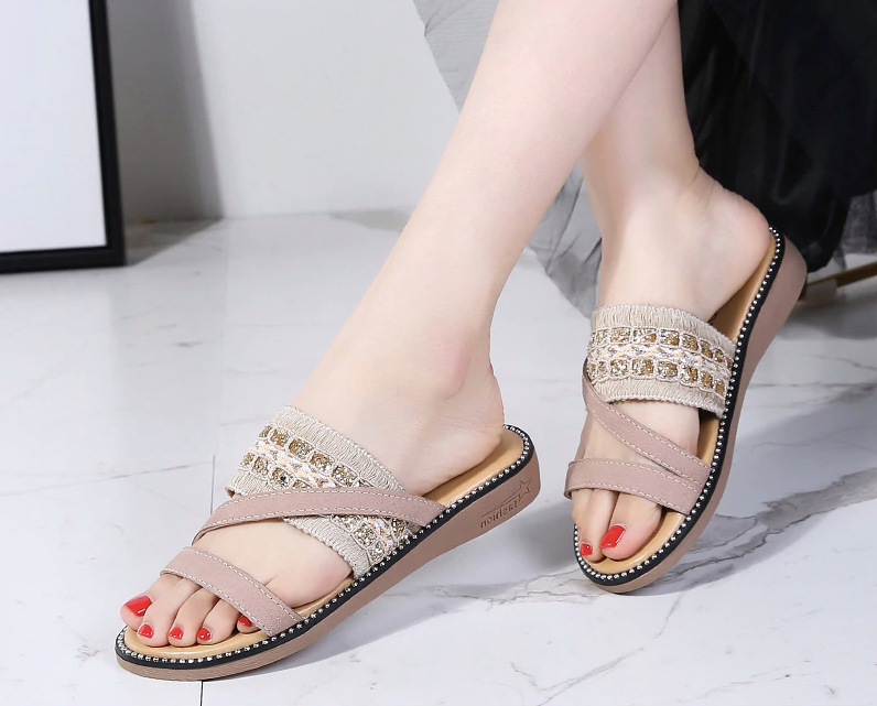 Reyes Flat Shoe Casual Leather Cheap Ultra Seller Shoes Color Beige Online Shop