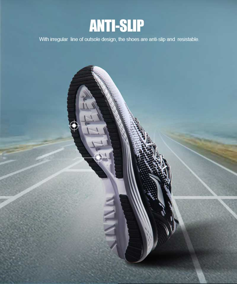 Ultra Seller Shoes - Quick Running Shoes Color White/Black