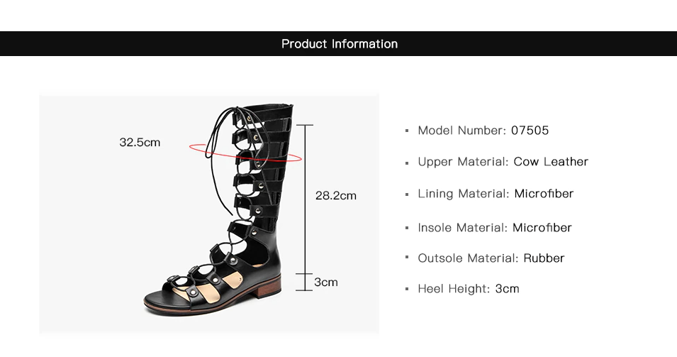 Hanni Women's Mid-Calf Cross-Tied Gladiator Sandals ultra seller shoes