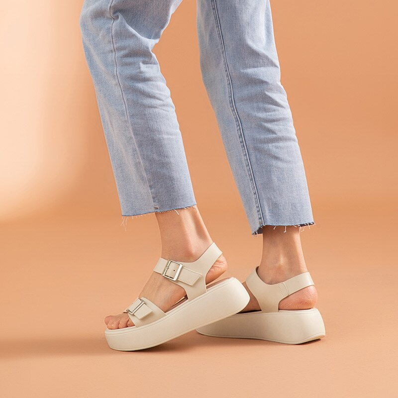 Teva Chunky Sandals Women Ankle Buckle Strap Summer Ladies Casual Platform shoes ultra seller shoes