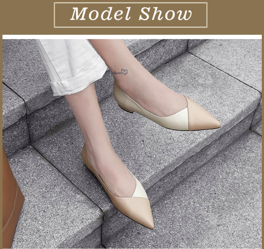 Lilit Loafers Women's Genuine Leather Flat Shoes Ultra Seller Color Nude Shoes Online Store