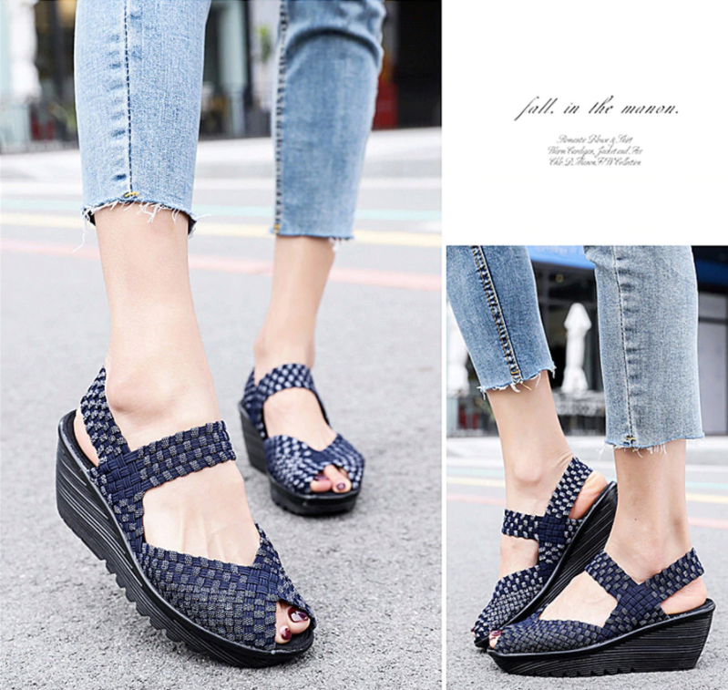 Hera Wedge Shoe Color Navy Blue Ultra Seller Shoes Cheap Wedges Online Store