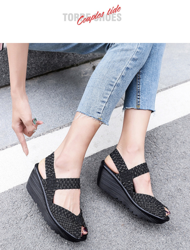 Hera Wedge Shoe Color Black Ultra Seller Shoes Cheap Wedges Online Store