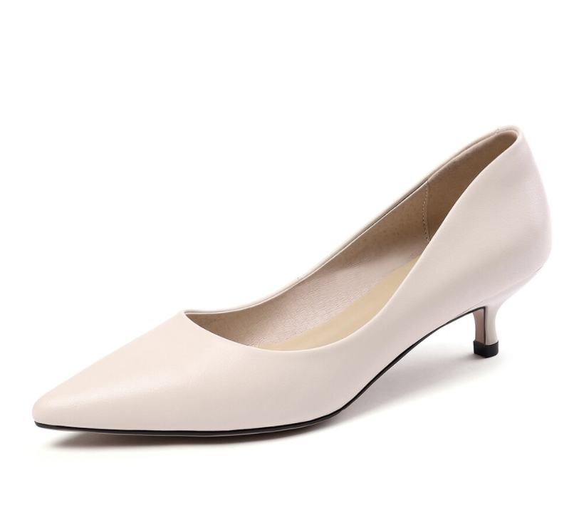 Abellan Pumps Shoe Color Creamy-White Ultra Seller Shoes Leather Shoe Online Store