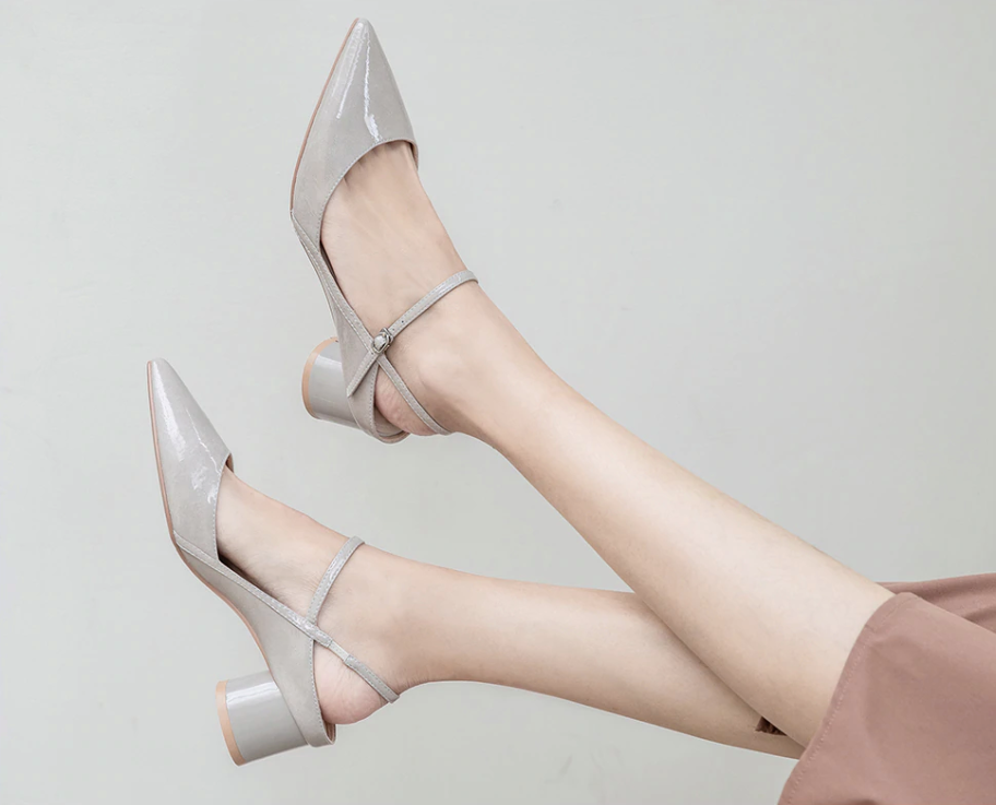 High Heels Acevedo Gray Color Ultra Seller Casual Shoes Affordable Heels Online Store