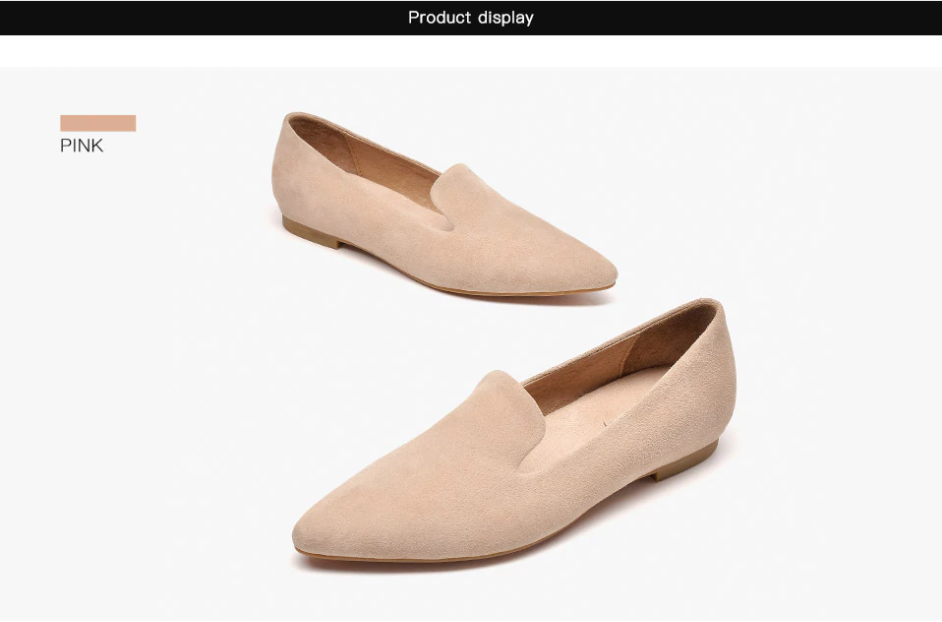 Loafers Aphrodite Shoes Ultra Seller Shoes Pink Color Genuine Leather Shoes Online Store