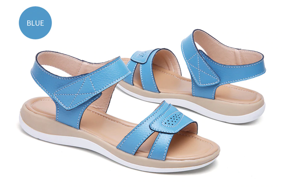 Amenti Sandals Shoes Color Blue Sandals Cheap UltraSeller Shoes