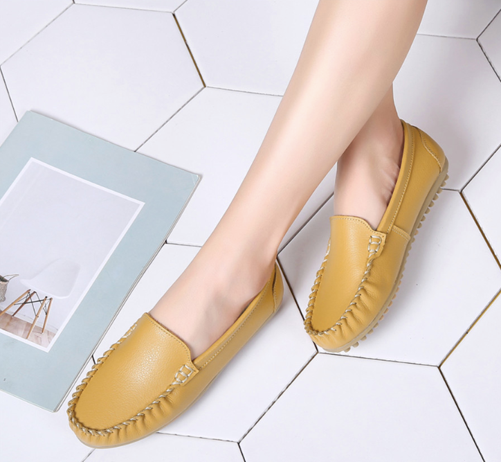 Archer Flat Shoes Color Yellow Healthy Ultra Seller Shoes Online Cheap