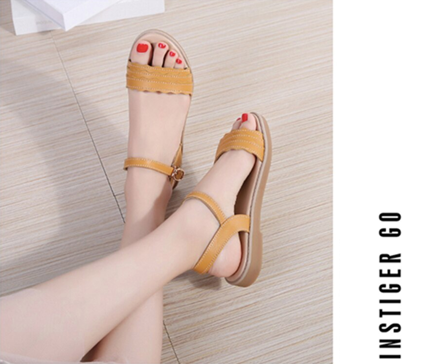 Armenia Sandals Shoe Color Yellow Comfortable Leather Sandals Ultra Seller Shoes Online Store