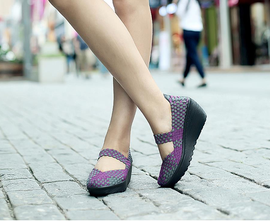 Ashoka Platform Shoe Color Purple Comfortable Ultra Seller Shoes Online Store