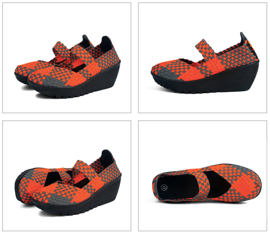 Ashoka Platform Shoe Color Orange Comfortable Ultra Seller Shoes Online Store