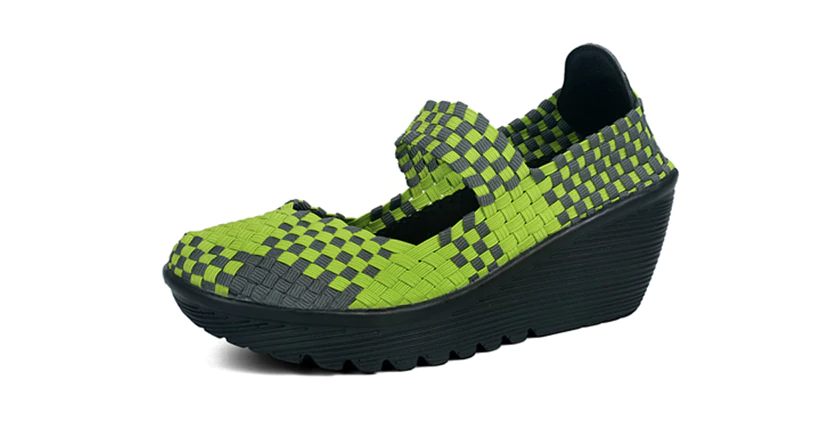 Ashoka Platform Shoe Color Green Comfortable Ultra Seller Shoes Online Store