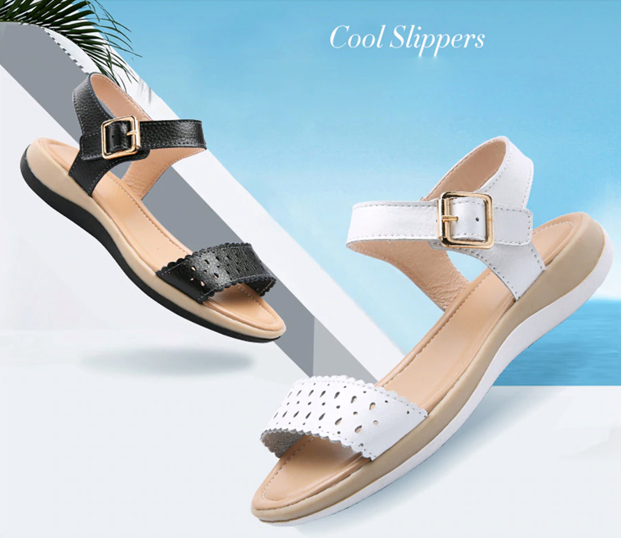 Asteria Sandals Shoe Color White Leather Ultra Seller Shoes Cheap Online