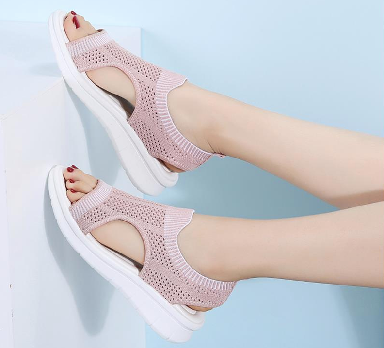Benzai Flat Shoe Color Pink Comfortable Cheap Ultra Seller Shoes Online USA