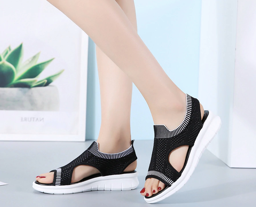 Benzai Flat Shoe Color Black Comfortable Cheap Ultra Seller Shoes Online USA