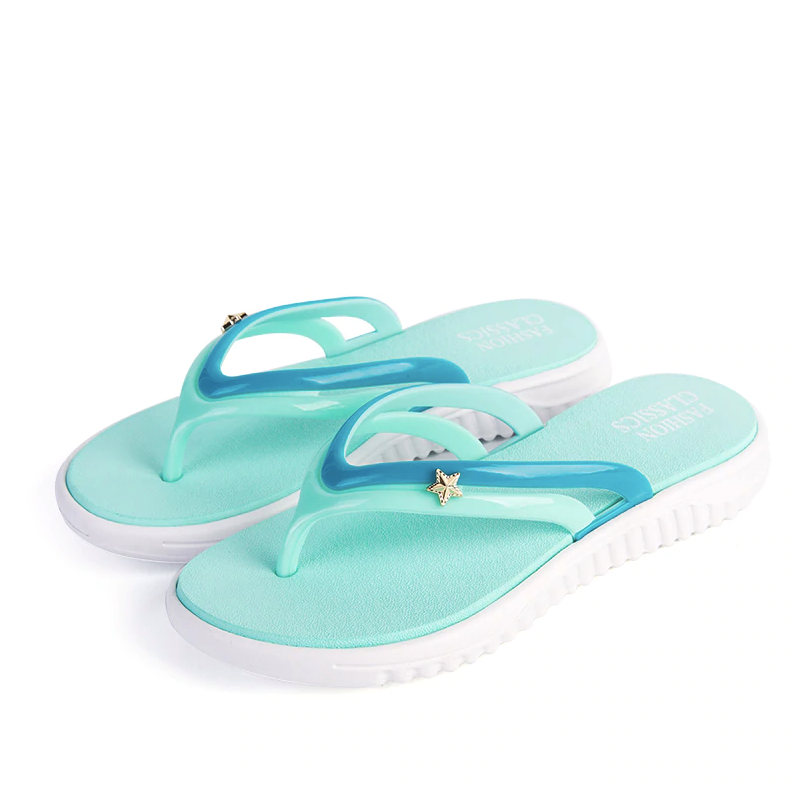 Flip Flops Bluefish Shoe Color Green Ultra Seller Shoes Comfortable Slippers For Women Beach Shoes Online Store