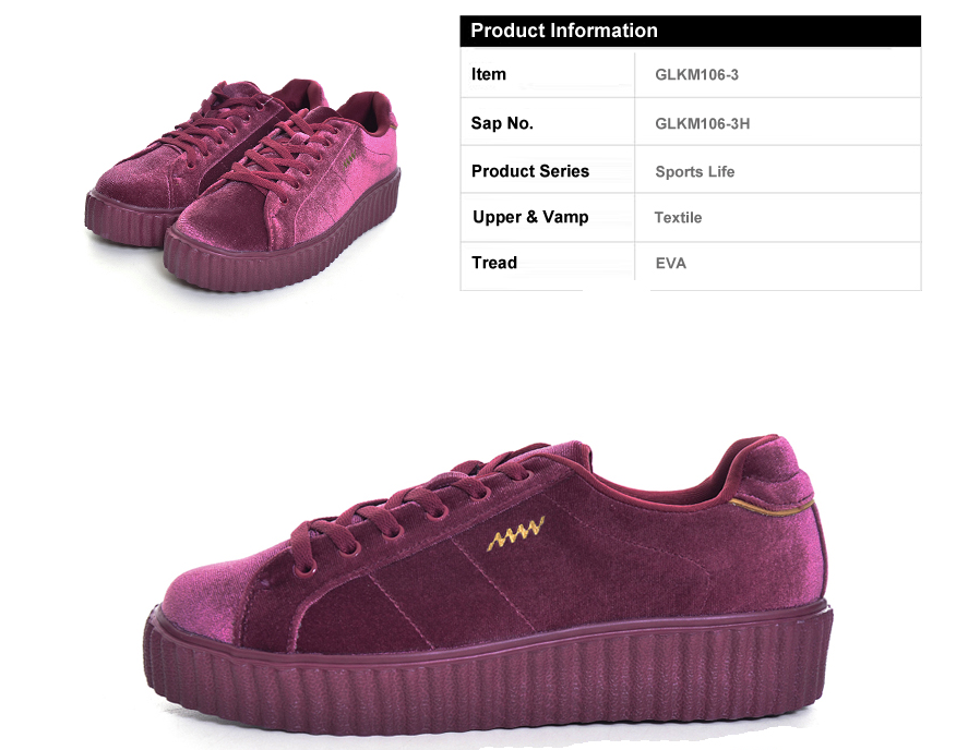 Bryony Sneakers Shoes Color Red Wine Ultra Seller Shoes Online Store