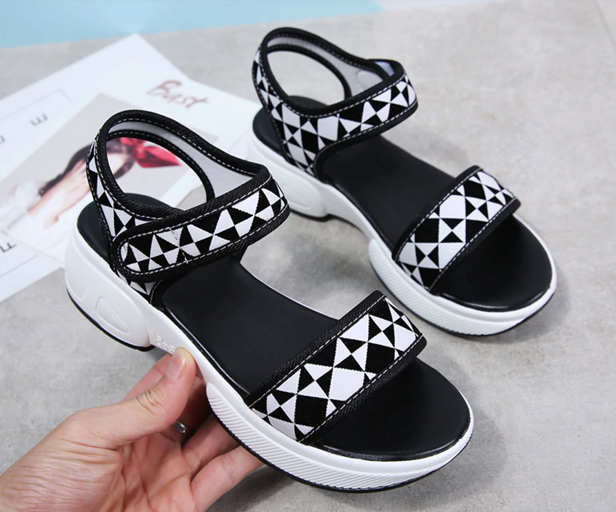 Canga Wedges Shoe Color White Ultra Seller Shoes Comfortable and Cheap Wedges