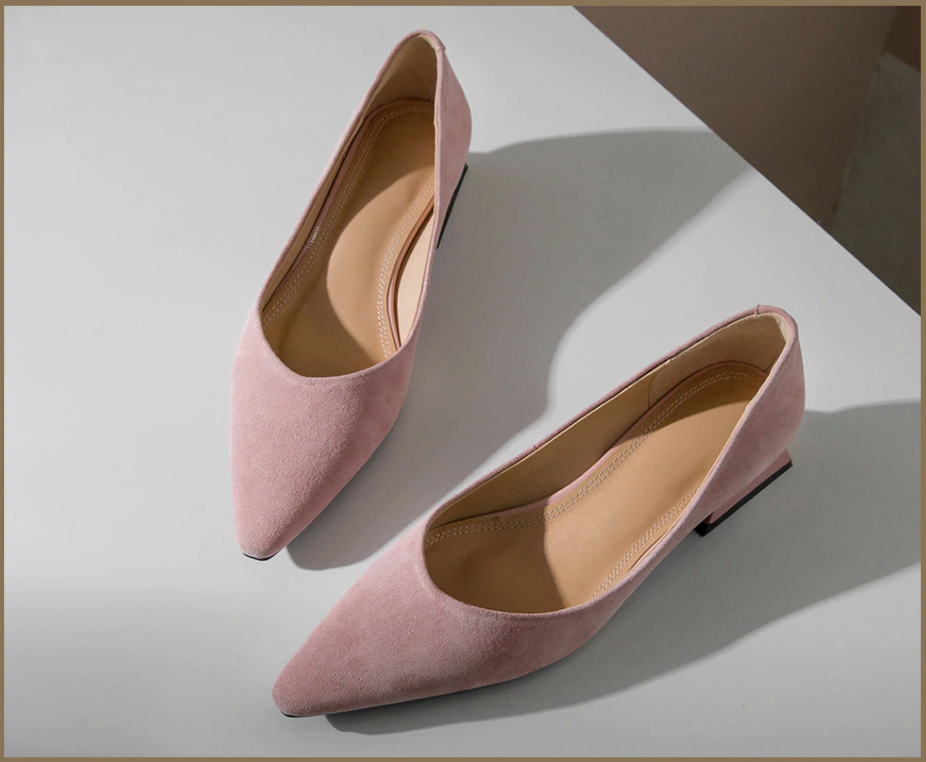 Ferreira Pumps Color Pink Leather Shoe Ultra Seller Shoes Affordable Shoes Online Store