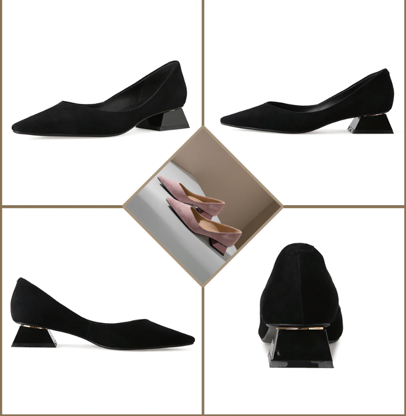 Ferreira Pumps Color Apricot Leather Shoe Ultra Seller Shoes Affordable Shoes Online Store