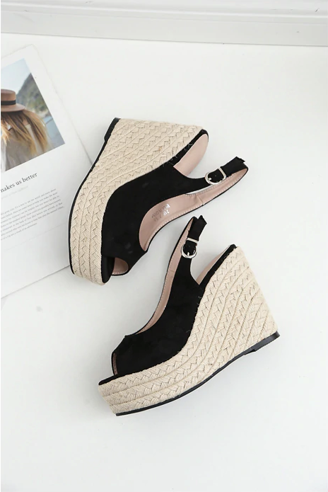 Garza Wedges Shoe Color Black Cheap Womens Wedges Ultra Seller Shoes Online Shop