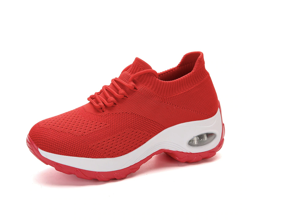 Godoy Sneakers Shoe Color Red Comfortables Ultra Seller Shoes Online Store