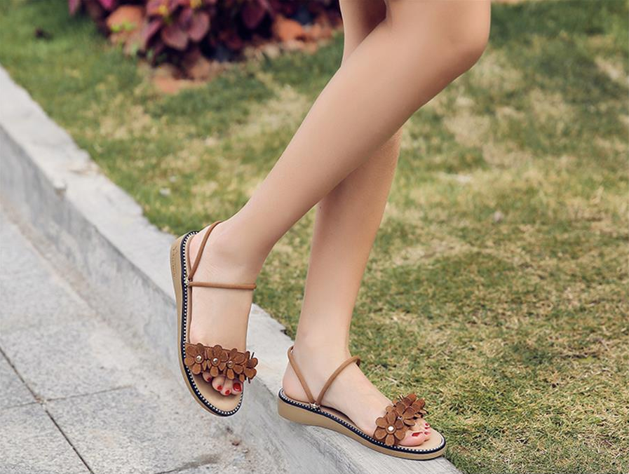 Minerva Sandals Shoe Color Brown Ultra Seller Shoes Comfortable Women's Sandals Online Store