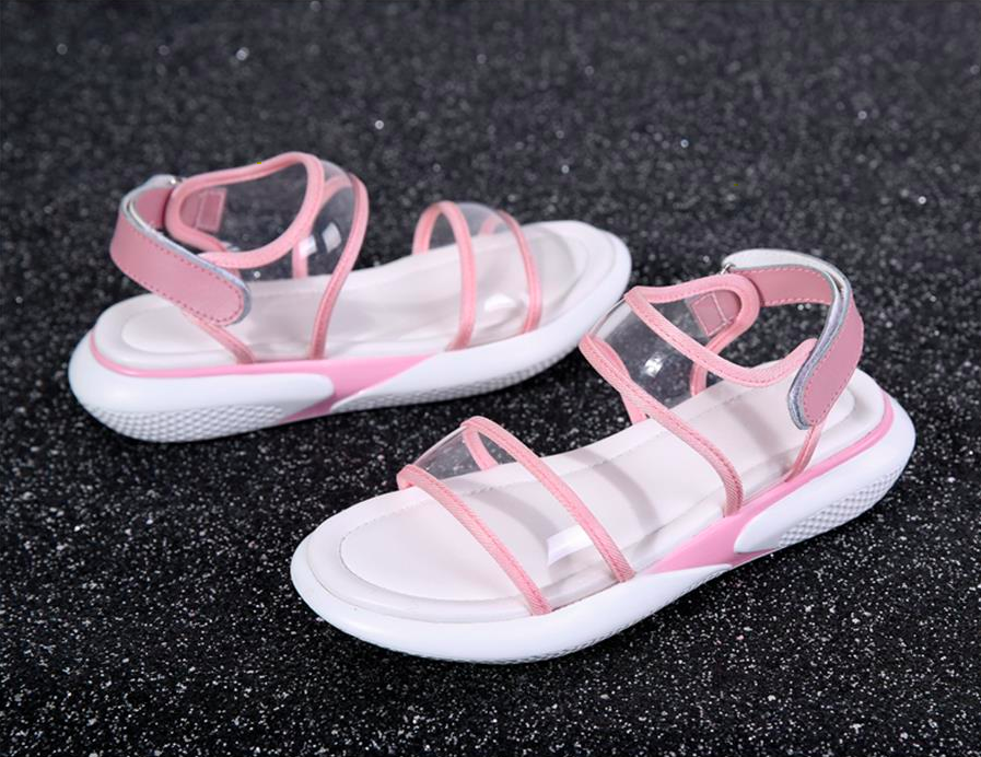 Nerthus Wedges Shoe Color Pink Ultra Seller Women's Shoes Cheap Beach Slippers