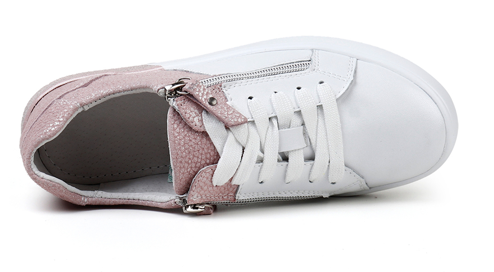 Olmos Sneakers Shoe Color Pink/White Ultra Seller Shoes Cheap Womens Shoe Online