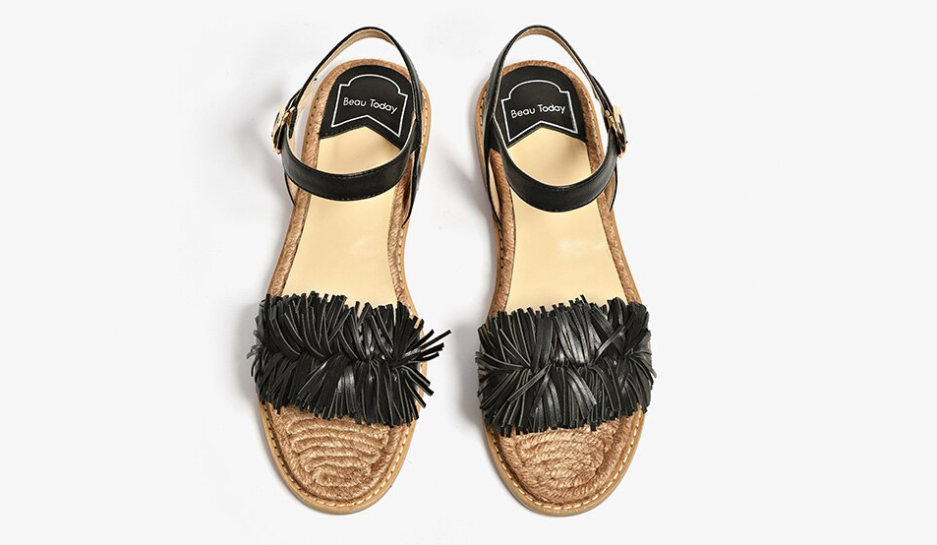 Palmtree Sandals Shoe Casual Ultra Seller Shoes Color Black Leather Online Store