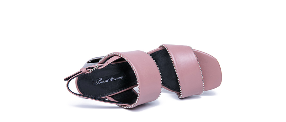Parker Sandals Shoe Leather Color Pink Ultra Seller Shoes Online Store
