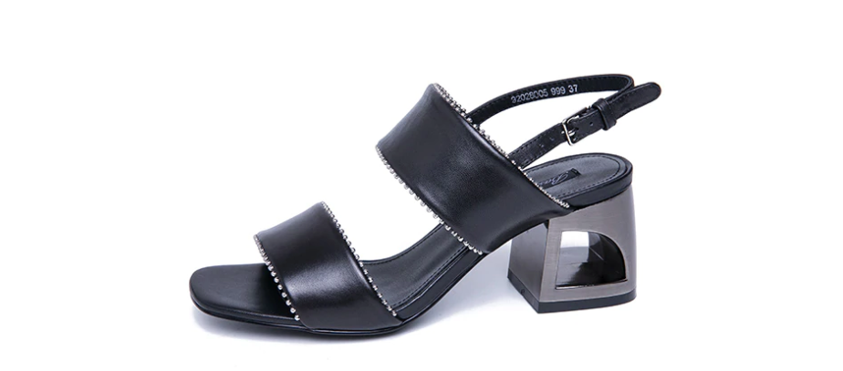 Parker Sandals Shoe Leather Color Black Ultra Seller Shoes Online Store