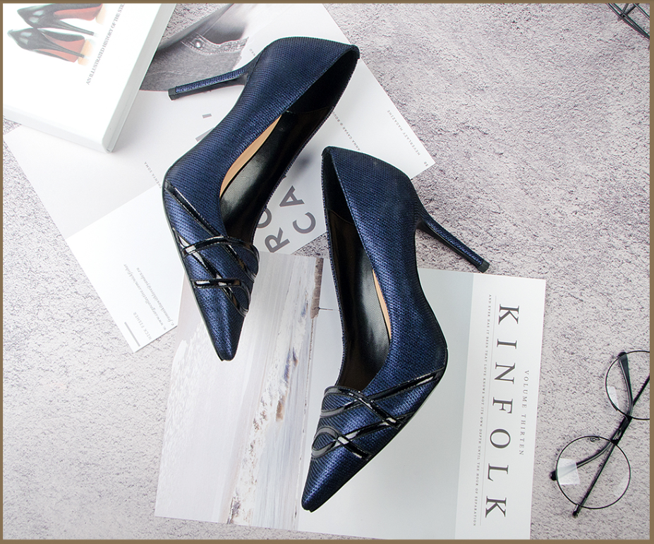 Sinacori Pumps Shoe Color Royal Blue High Quality Ultra Seller Shoes Online Store