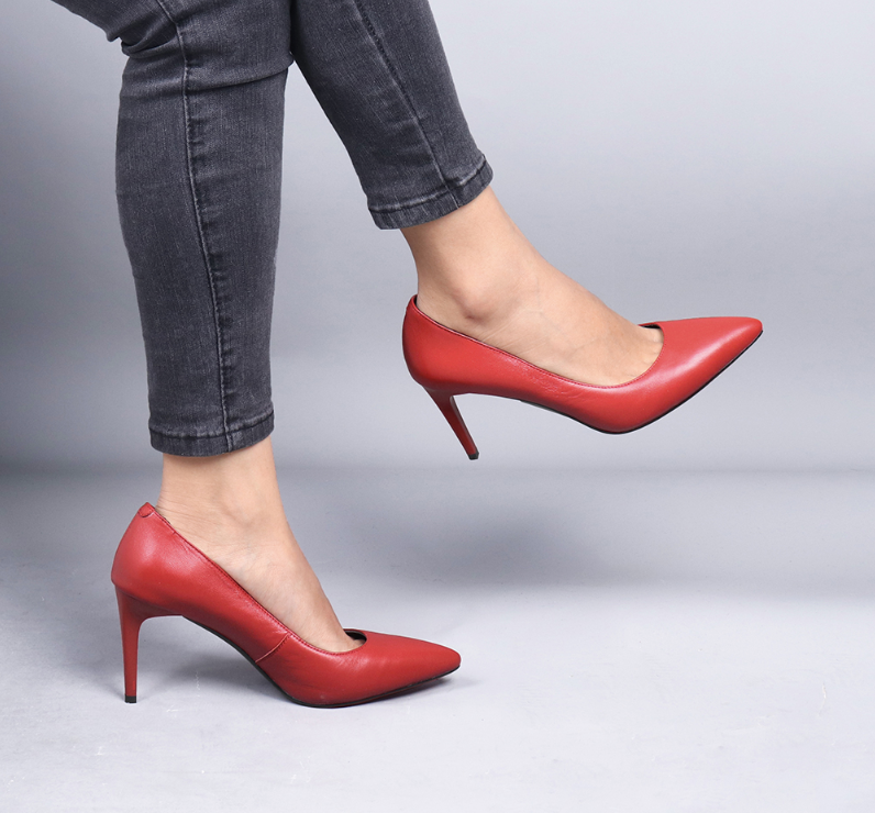 Trinity Pumps Shoe Color Red Casual Ultra Seller Shoes Online Shop Affordable