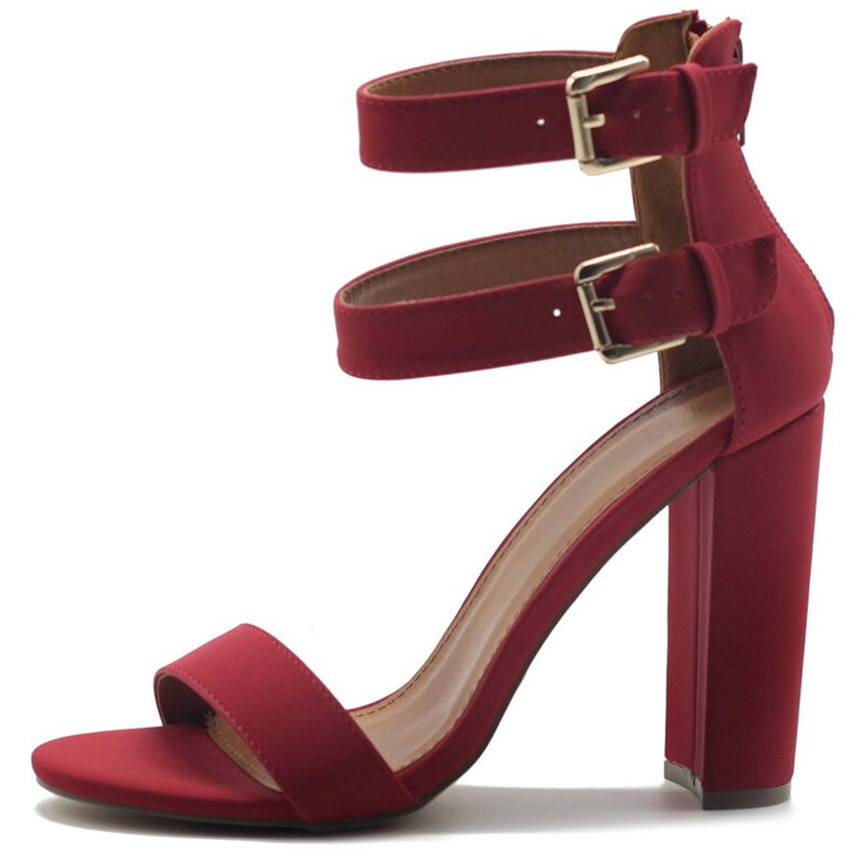 Zamora Heels Shoe Color Red For Graduation Ultra SellerShoes Online Cheap