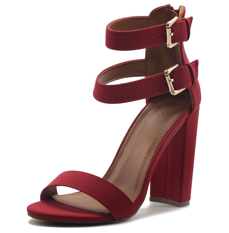 Zamora Heels Shoe Color Red For Graduation Ultra Seller Shoes Online Cheap