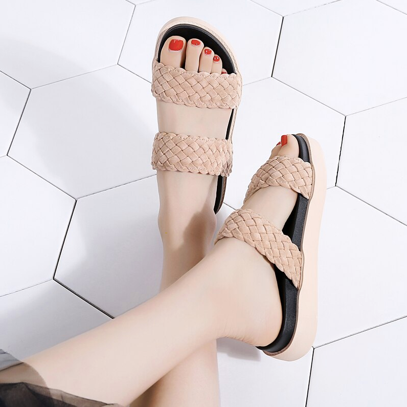 Yemoja Sandals Shoe Ultra Seller Shoes Color Apricot Comfortable Cheap Online Store