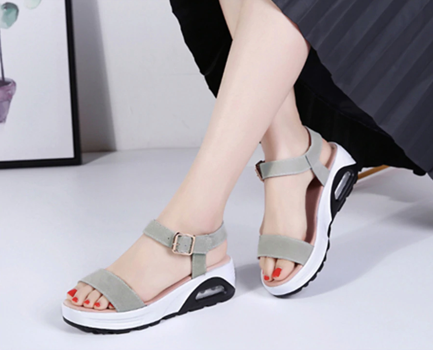 Anumati Wedges Shoes Color Green Ultra Seller Shoes Affordable Womens Shoe Online Store