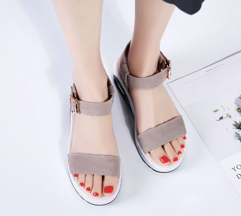 Anumati Wedges Shoes Color Beige Ultra Seller Shoes Affordable Womens Shoe Online Store