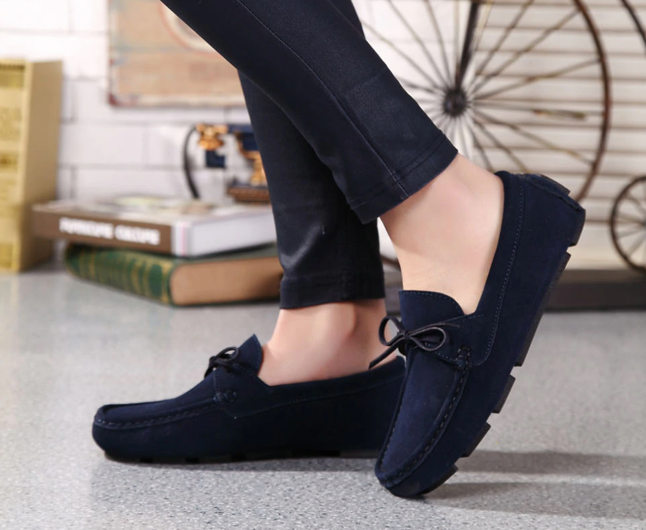 Astarté Loafers Shoe Color Navy Blue UltraSeller Shoes  Womens Loafers Leather Comfortable Shoe OnlineShop