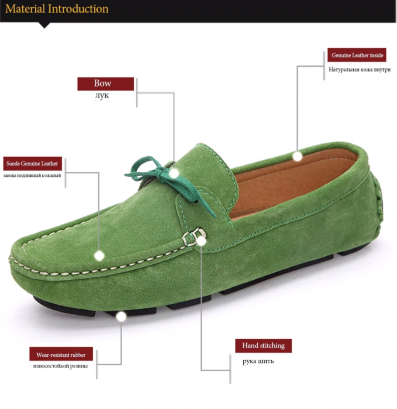 Astarté Loafers Shoe Color Green UltraSeller Shoes  Womens Loafers Leather Comfortable Shoe OnlineShop