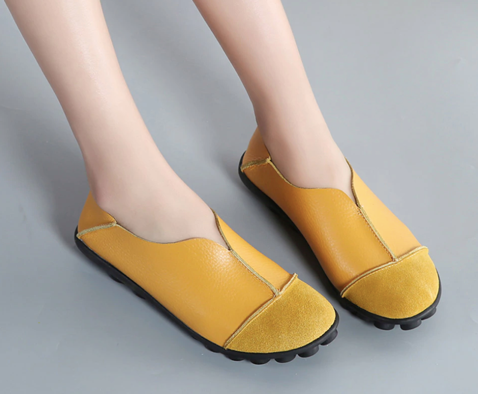 Fenicia Flat Shoe Color Yellow Ultra Seller Shoes Comfortable Online Store
