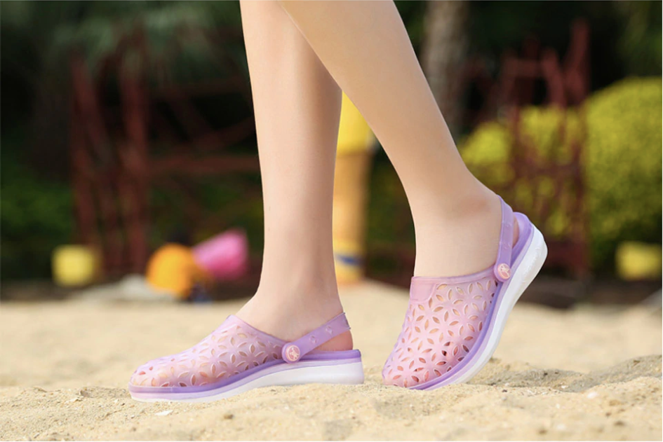 Medeina Flip Flops Shoe Color Purple Ultra Seller Shoes Casual Slippers for Women Female Beach Shoes Online Store