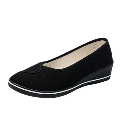 Carolina Women's Loafers Black Shoes