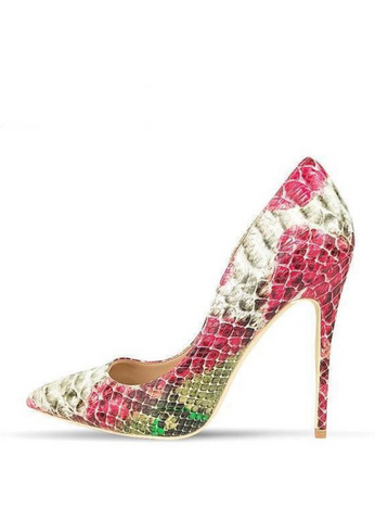 Pink Snake Pumps - Ultra Seller