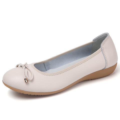 Ultra Seller Shoes Cheap Women Ballet Flat Solid Color beige